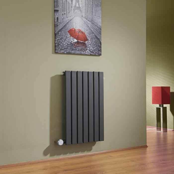 Sloane Designradiator Elektrisch Horizontaal Antraciet 63,5cm x 42cm x 5,4cm