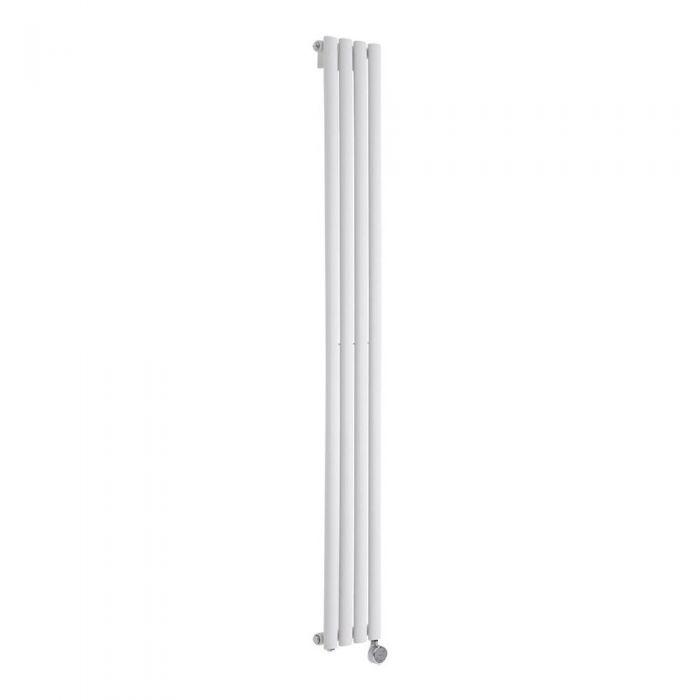 Revive Designradiator Elektrisch Verticaal Wit 178cm x 23,6cm x 5,6cm