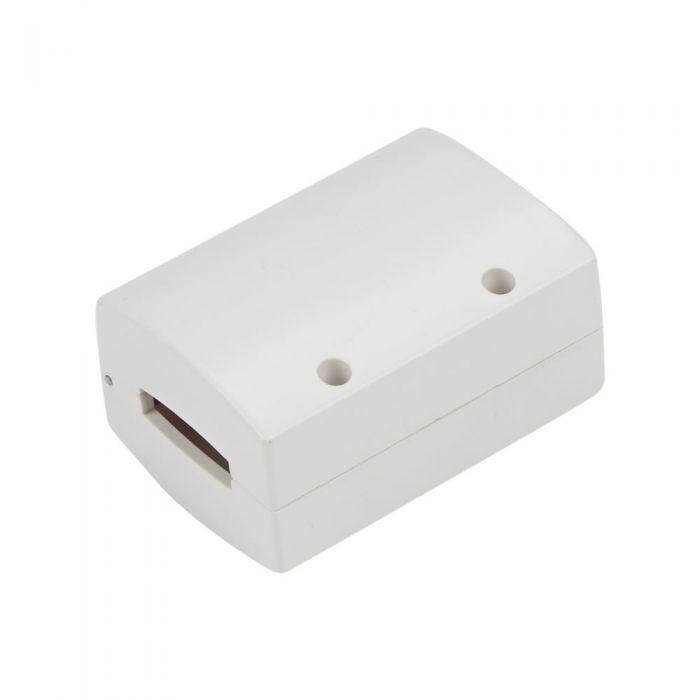 Biard Doorverbinder Voor Flexibele Railverlichting Wit
