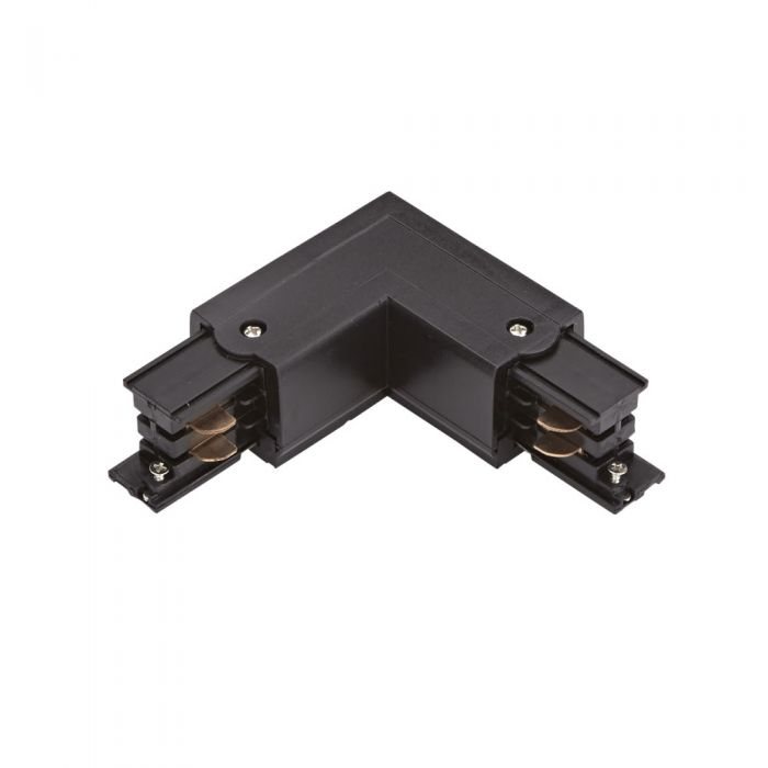 Biard 3-fase Hoek Doorverbinder - Zwart