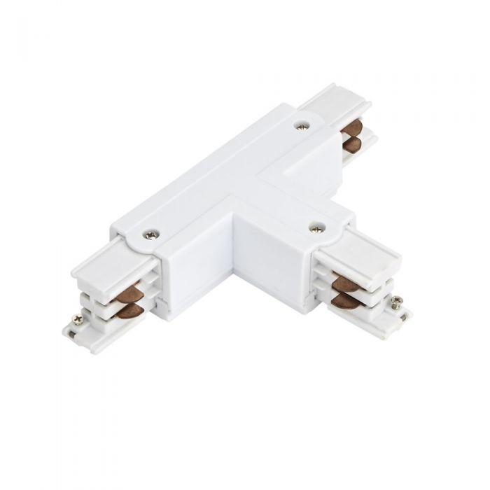 Biard T-Stuk 3-fase Doorverbinder - Wit