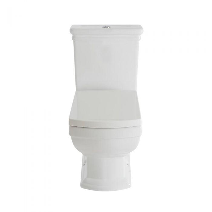 Chester Klassiek Toilet en Stortbak Wit