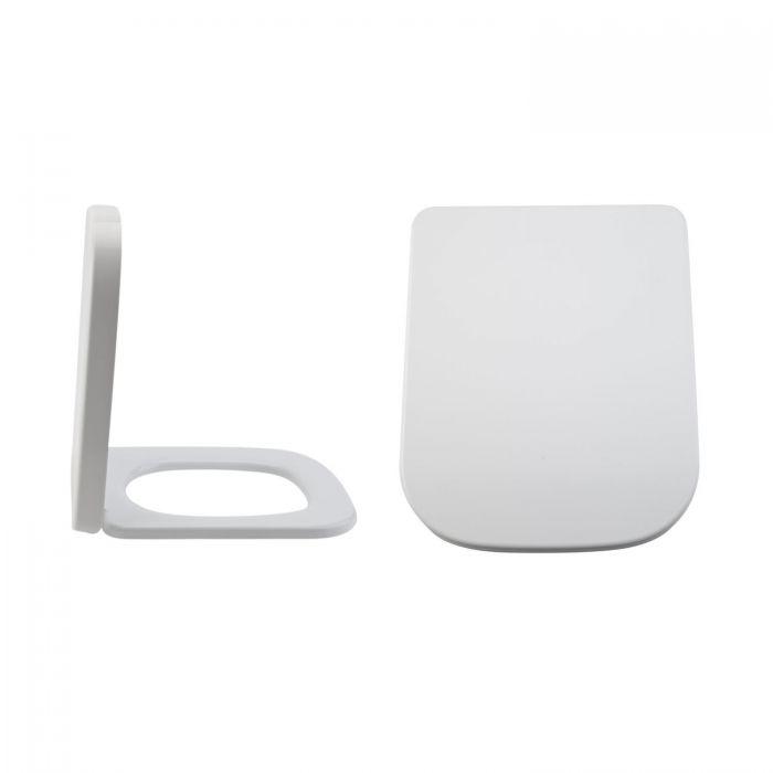 Longton Duroplast Zachtsluitende Toiletbril Easy Fix &  Bovenaansluiting