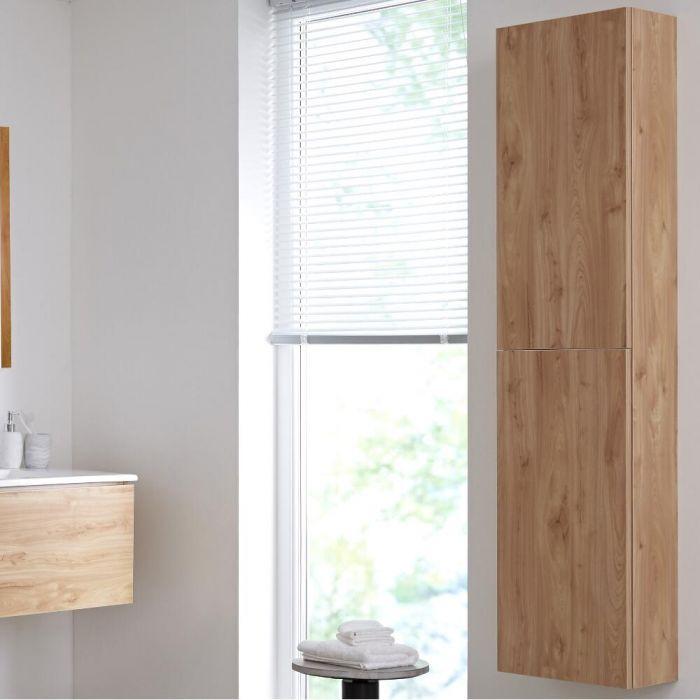 Badkamerkast Goud Eiken 35 x 150cm - Newington