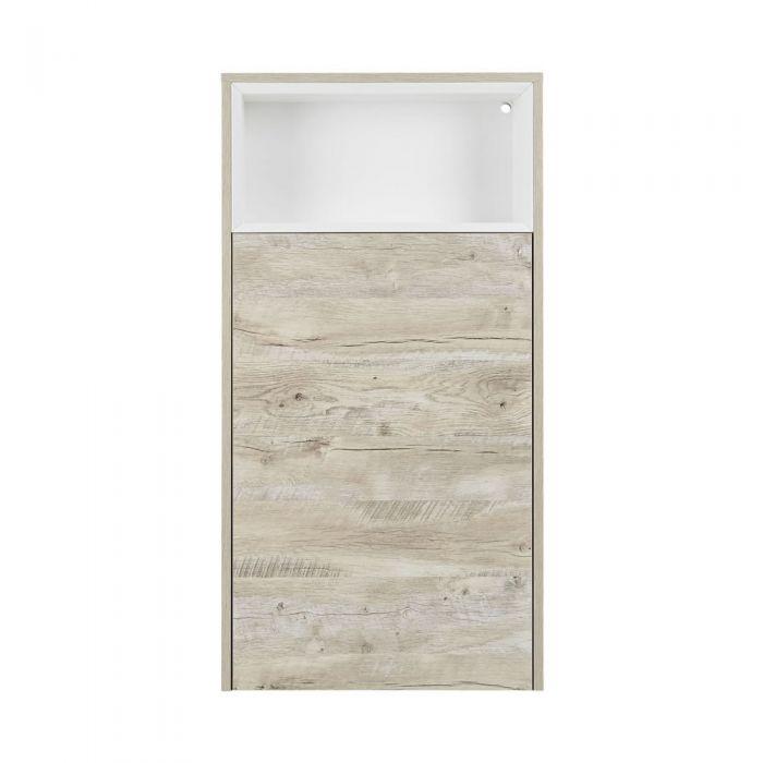 Hoxton Toiletmeubel met Open Schap Licht Eiken 115cm