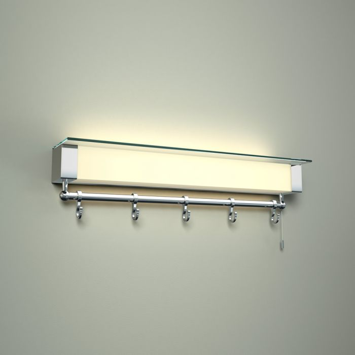 Tanana LED Badkamer Wandplank met LED lamp IP44