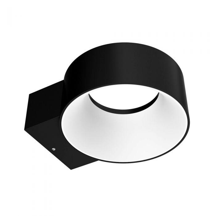 Faro 8W LED Wandlamp Buiten Aluminium Zwart IP65