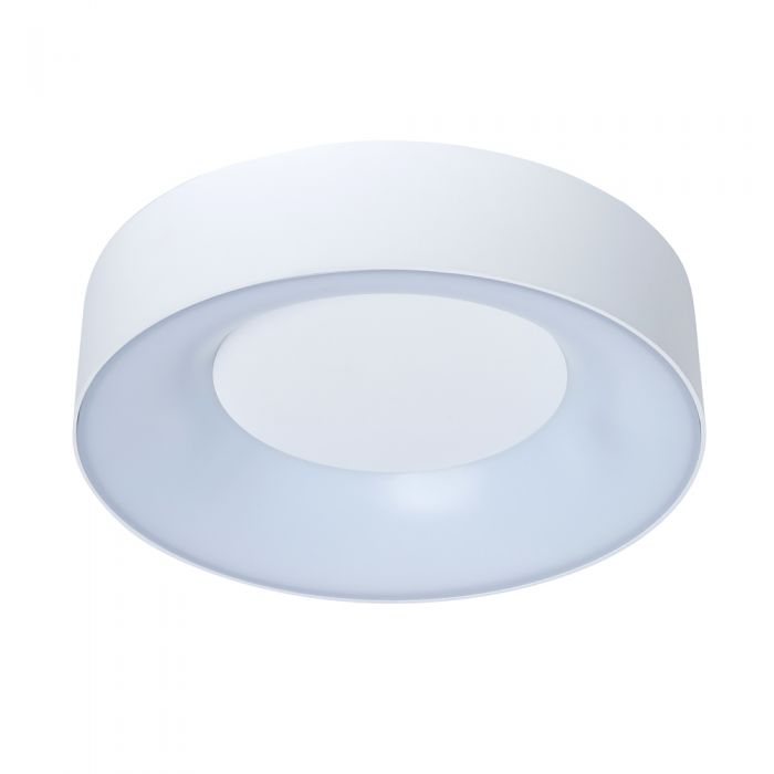 Lecce 18W LED Plafondlamp Buiten Wit IP54