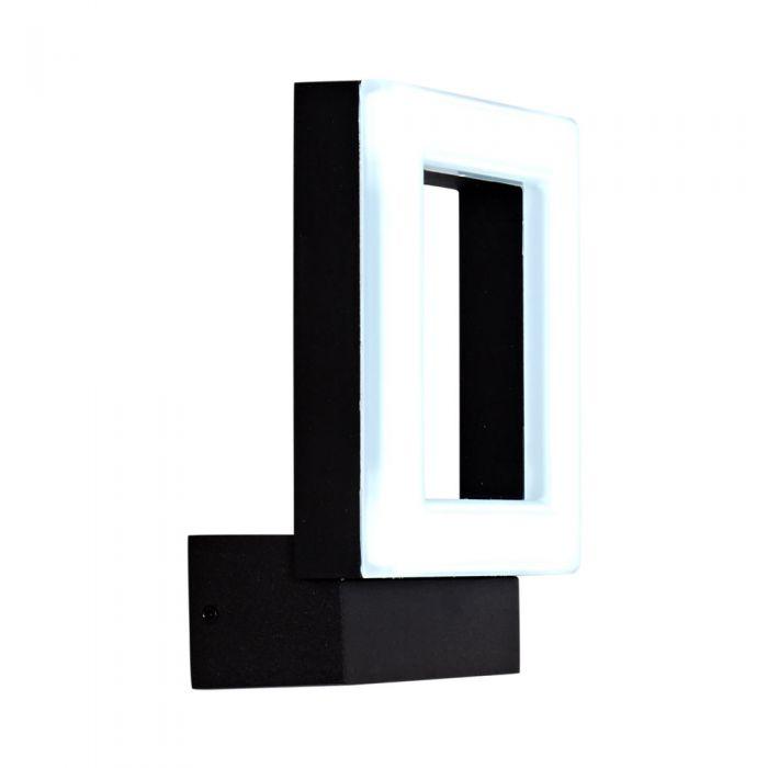 Ivrea 10W LED Wandlamp Buiten IP65 - Verkrijgbaar in Antraciet & Zwart