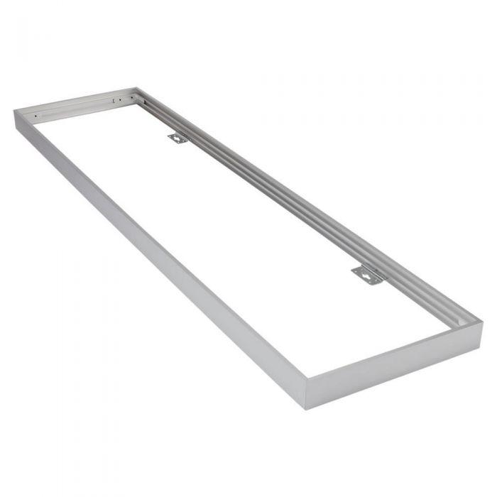 Montagebeugel voor 120 x 30cm LED Paneelverlichting Aluminium - Zilver