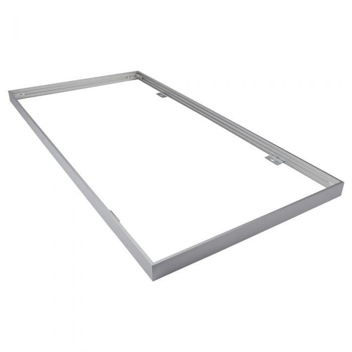 Montagebeugel voor 120 x 60 cm LED Paneelverlichting Aluminium - Zilver