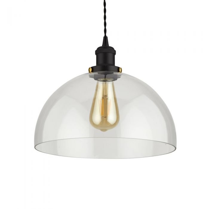 Biard Gracia Hanglamp Glas Halfrond E27 (keus uit 5 fitting kleuren)