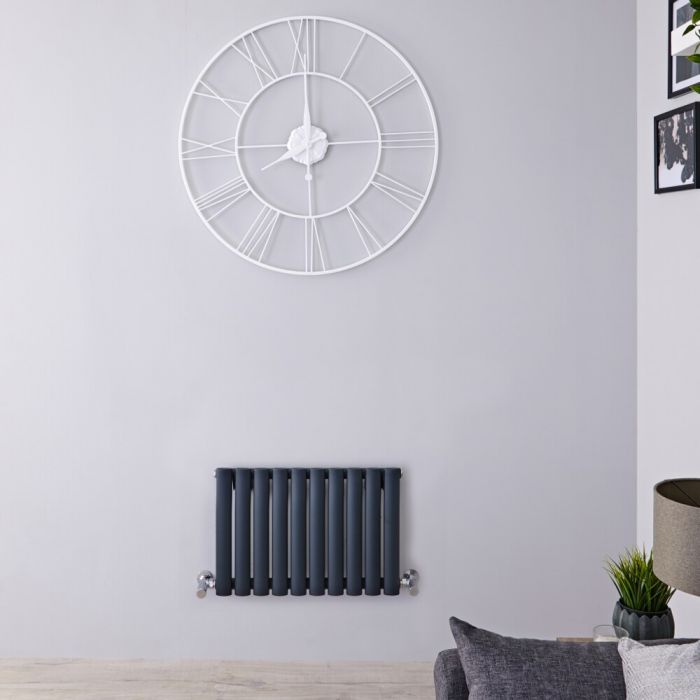 Revive Design Radiator Horizontaal Antraciet 40cm x 59,5cm x 5,6cm 406Watt