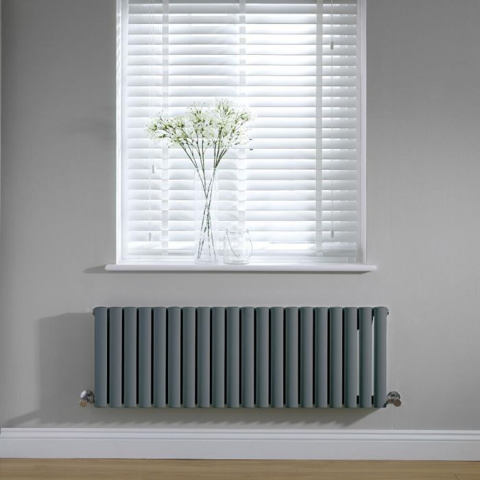 Revive Design Radiator Horizontaal Antraciet 40cm x 118cm x 5,6cm 813Watt