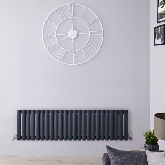 Revive Design Radiator Horizontaal Antraciet 40cm x 141,1cm x 5,6cm 975Watt