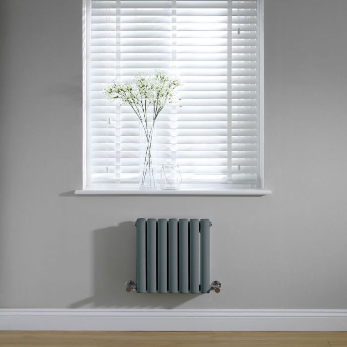 Revive Design Radiator Horizontaal Antraciet 40cm x 41,5cm x 7,8cm 433 Watt