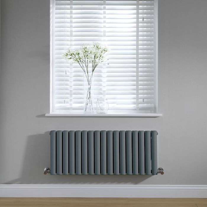 Revive Design Radiator Horizontaal Antraciet 40cm x 100cm x 7,8cm 1052 Watt