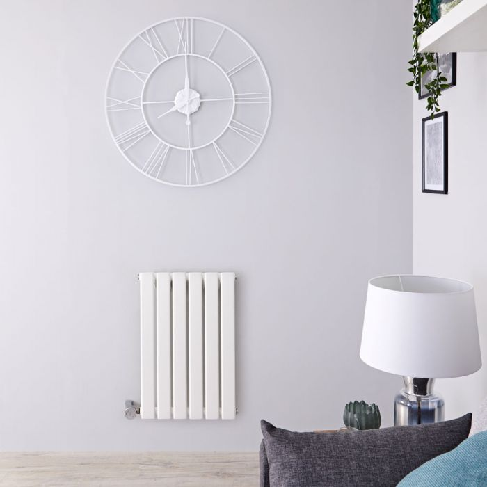 Delta Designradiator Elektrisch Horizontaal Wit 63,5cm x 42cm x 4,6cm