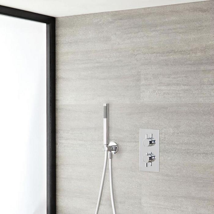 1-weg Inbouw Thermostaatkraan + Handdouchecombinatie - Modern