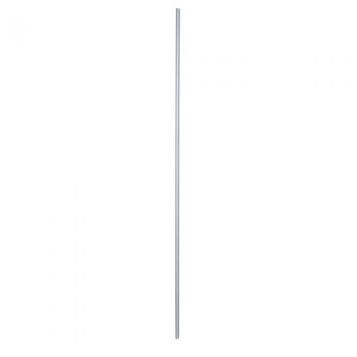Lux Hoek Verbindingsprofiel voor Douchewand en 25cm Zijwand - Wit