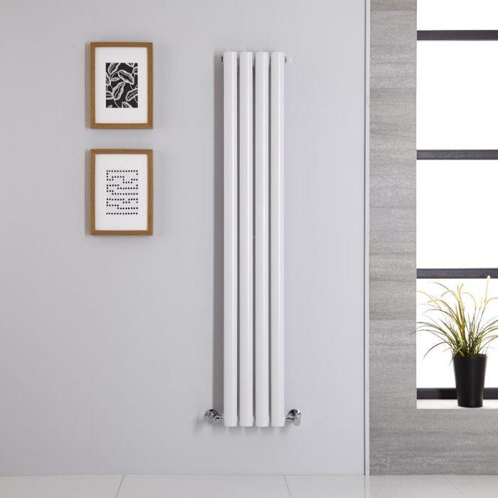 Revive Designradiator Verticaal Wit 140cm x 23,6cm x 5,6cm 457 Watt