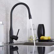 Design Keukenmengkraan - Zwart