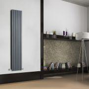 Sloane Designradiator Verticaal Antraciet 160cm x 35,4cm x 7,2cm 1193 Watt