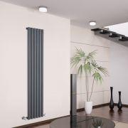 Savy Designradiator Verticaal Antraciet 160cm x 35,4cm x 8,1cm 958 Watt