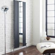 Revive Designradiator Verticaal Antraciet 180cm x 49,9cm x 5,5cm 1030 Watt