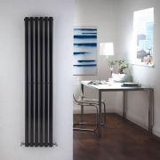 Revive Designradiator Verticaal Zwart 160cm x 35,4cm x 5,6cm 841 Watt
