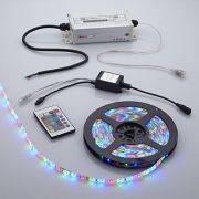 Biard Waterbestendige LED 3528 strip verlichting incl IR Controller - 5 meter - Rood/Groen/Blauw/Wit