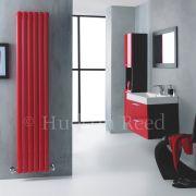 Revive Designradiator Verticaal Rood 180cm x 35,5cm x 7,9cm 1632 Watt
