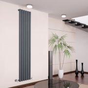 Savy Designradiator Verticaal Antraciet 178cm x 35,4cm x 8,1cm 1043 Watt
