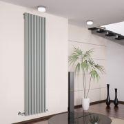 Savy Designradiator Verticaal Zilver 178cm x 47,2cm x 8cm 1391 Watt