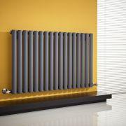 Revive Designradiator Horizontaal Antraciet 63,5cm x 100cm x 5,5cm 1015 Watt