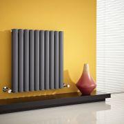 Revive Designradiator Horizontaal Antraciet 63,5cm x 59,5cm x 7,8cm 932 Watt