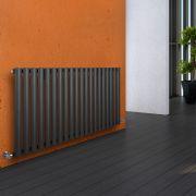 Revive Designradiator Horizontaal Antraciet 63,5cm x 118cm x 5,6cm 1194 Watt