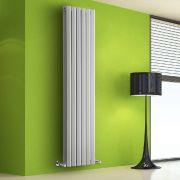 Helius Designradiator Verticaal Wit 178cm x 56cm x 8,6cm 2158 Watt