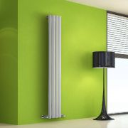 Helius Designradiator Verticaal Wit 160cm x 28cm x 6cm 630 Watt