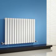 Sloane Designradiator Horizontaal Wit 63,5cm x 83,4cm x 5,4cm 842 Watt