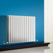 Sloane Designradiator Horizontaal Wit 63,5cm x 83,4cm x 7,1cm 1307 Watt