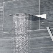 Waterbesparende Slimline RVS Regendouchekop