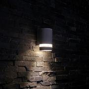 Biard Op- en Neerwaartse Buitenlamp - Gehoekt - Zwart