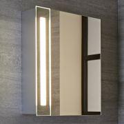 Bala 9W IP44 LED Badkamerspiegelkast Wit Anti-mist 60 x 40 x 14cm