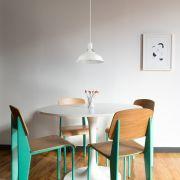 Brera Hanglamp Wit E27 (keus uit 5 fitting kleuren)