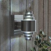 Biard Eze Op- & Neerwaartse RVS LED Buitenlamp Incl. G9 Lamp