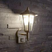 Biard Cannes RVS Klassieke Lantaarn Stijl Buitenverlichting - met Sensor