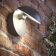 Biard Piombino Verstelbare LED 13W IP54 Wandlamp - Antraciet