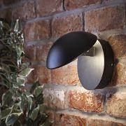 Biard Piombino Verstelbare LED 13W IP54 Wandlamp - Zwart