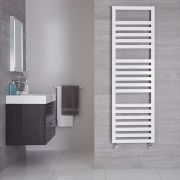 Urbino Designer Handdoekradiator Wit 160cm x 50cm  814Watt